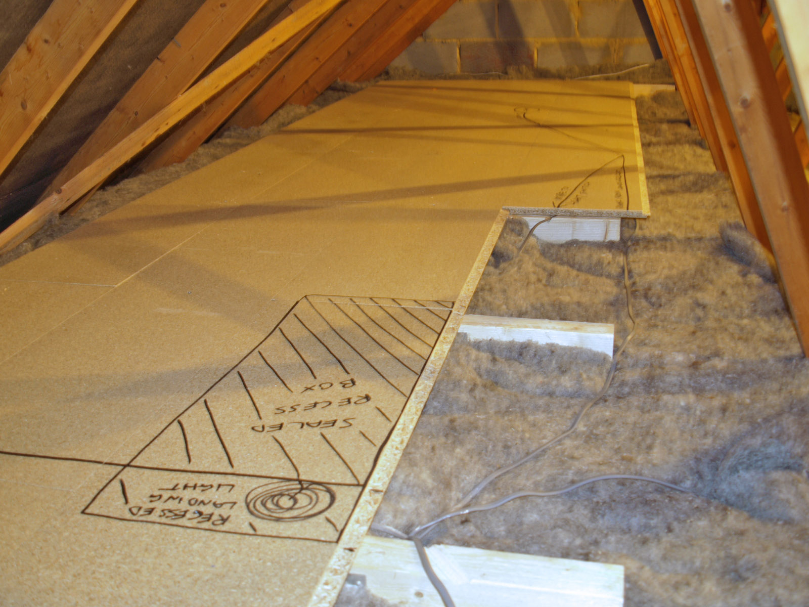 Insulating attic floor boards attic ideas is boarding over loft insulation a diy job pertaining to proportions 1600 x 1200 solutioingenieria Choice Image