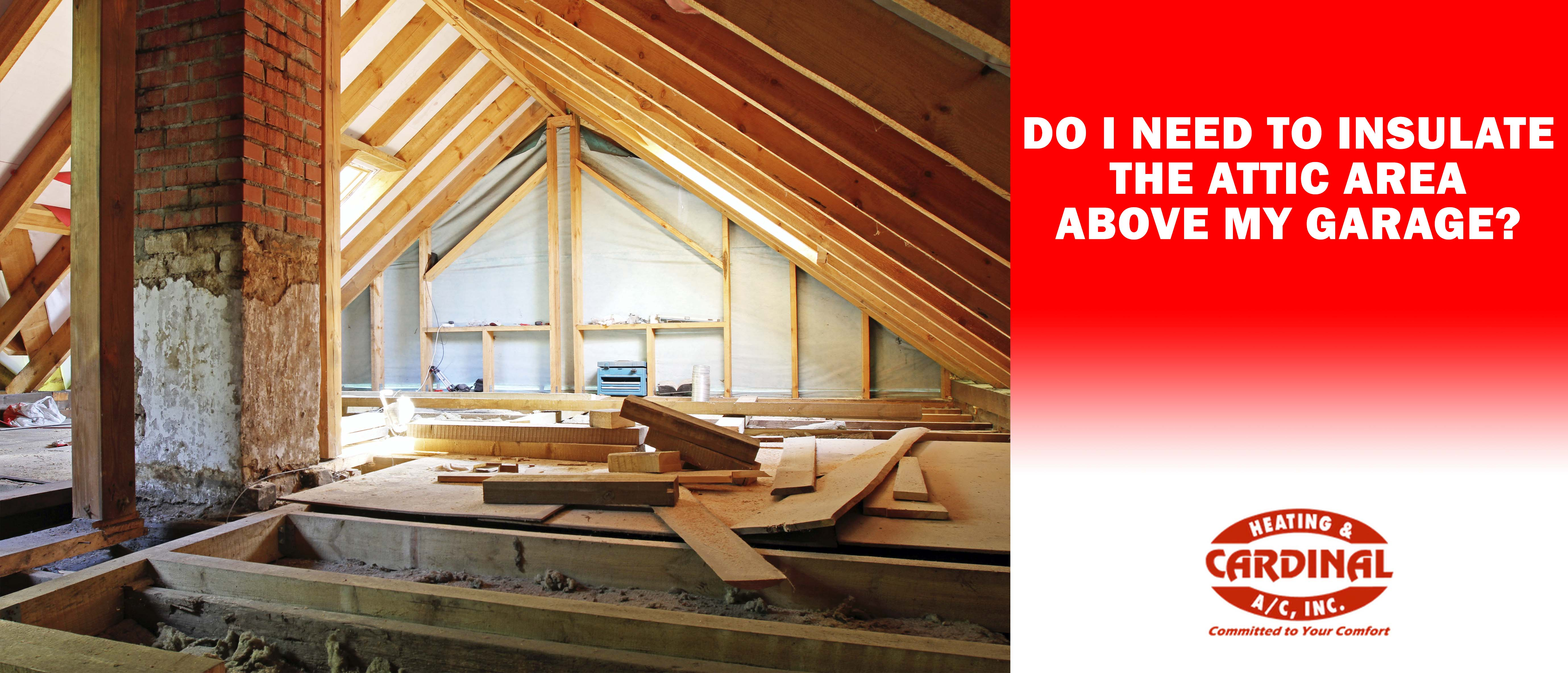 Is Insulating The Attic Over A Garage Beneficial Cardinal inside size 5517 X 2368