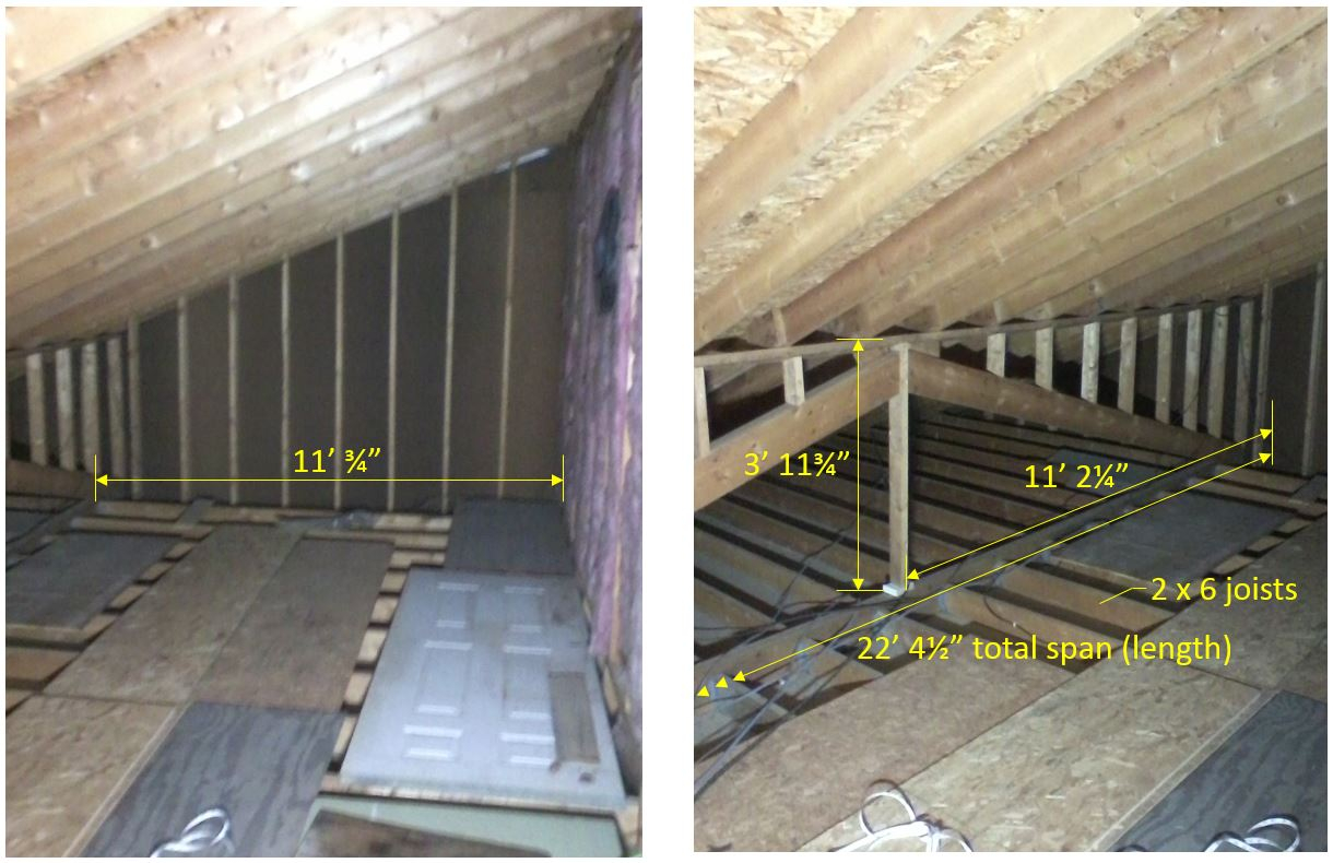 Is My Attic Floor Over My Garage Strong Enough To Use It For Throughout  Sizing 1220