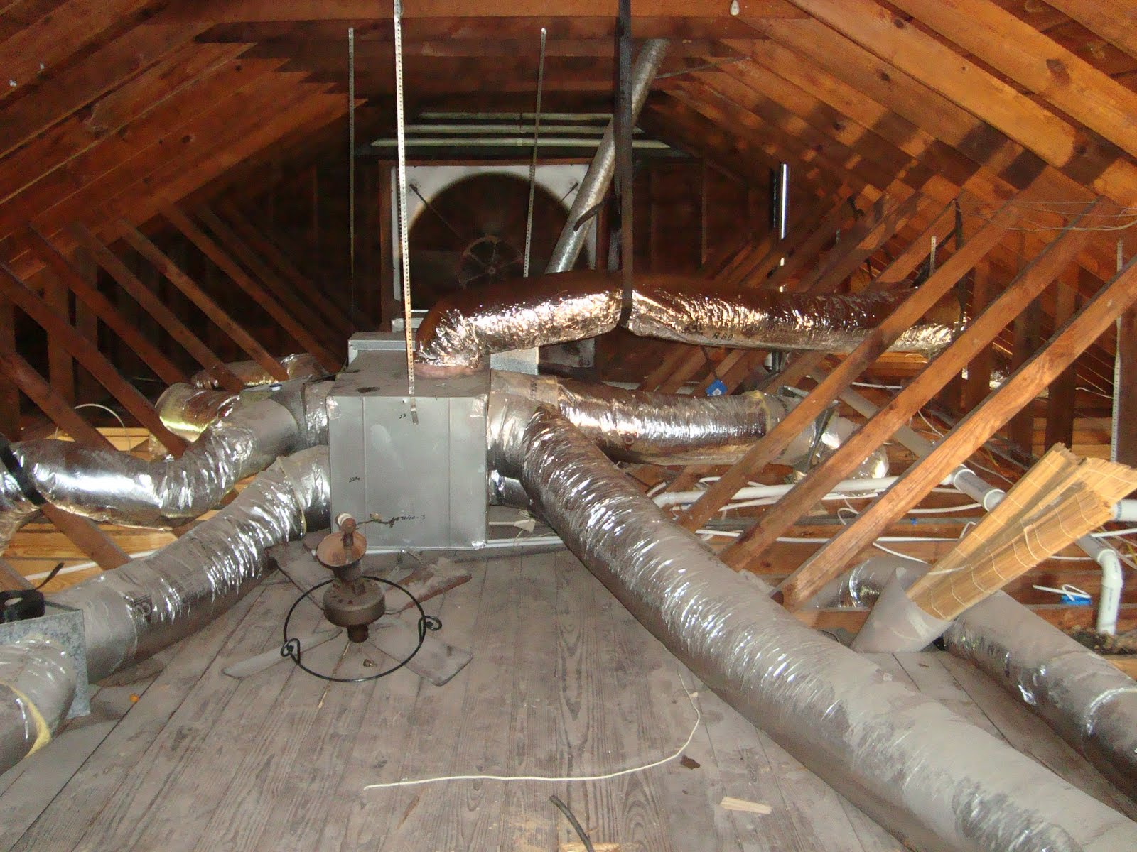 Attic Air Handler Insulation Attic Ideas