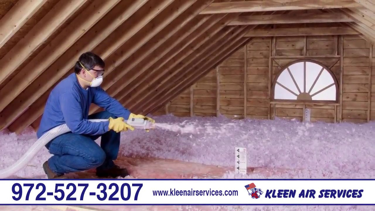 Kleen Air Services Air Conditioning Heating Attic Insulation with dimensions 1280 X 720