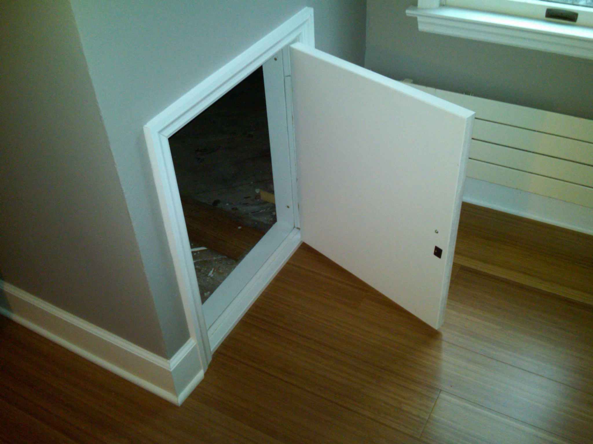 Attic Knee Wall Door Insulation Attic Ideas