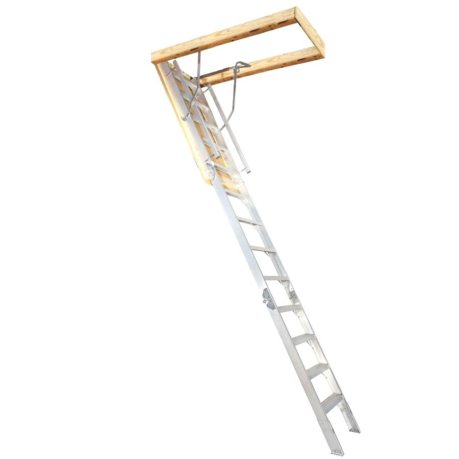 Werner Televator Small Opening Attic Ladder 10 Attic Ideas