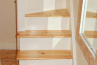Ladder Small Opening Attic Ladder Small Wood Attic Ladder with regard to size 728 X 1094