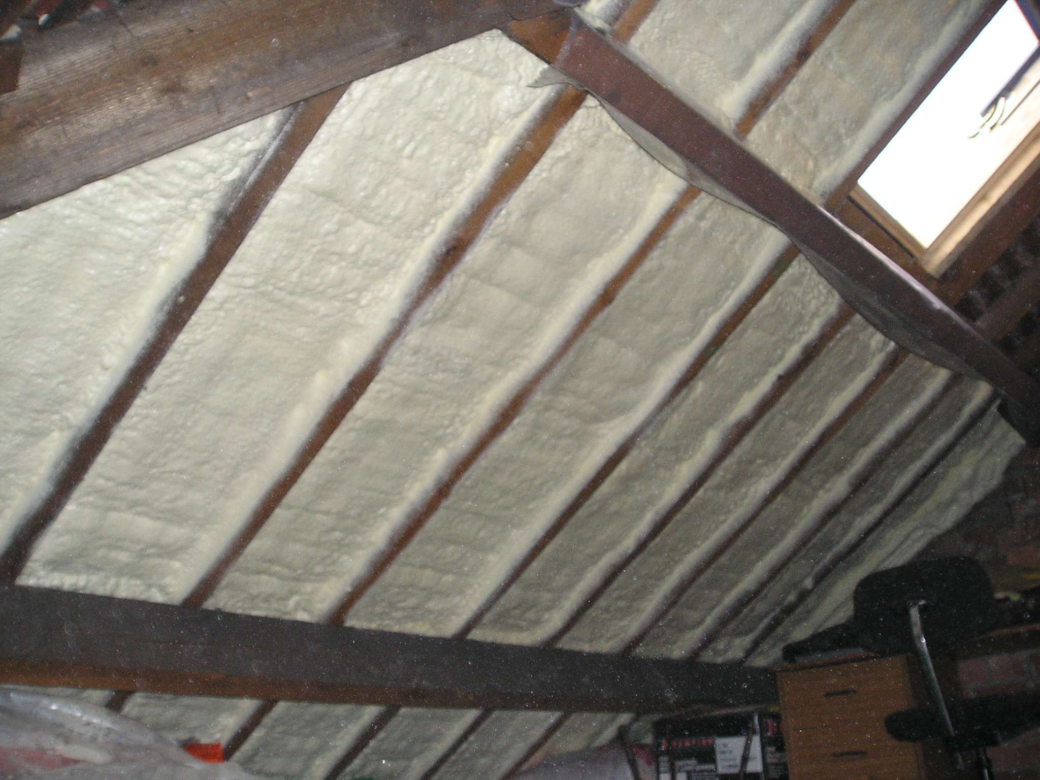 Attic conversion insulation options attic ideas for Insulation options for new homes