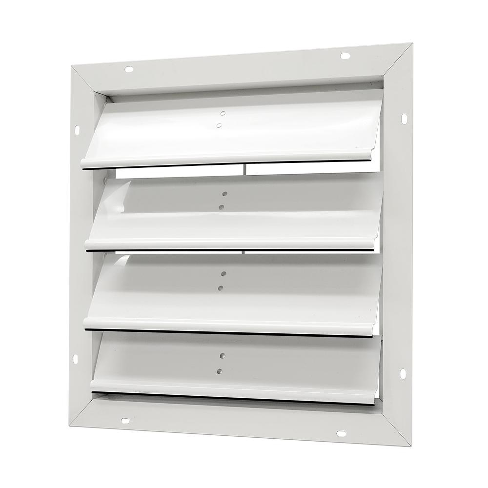 Master Flow 20 In Aluminum Gable Mount Automatic Shutter Sgm20 inside proportions 1000 X 1000