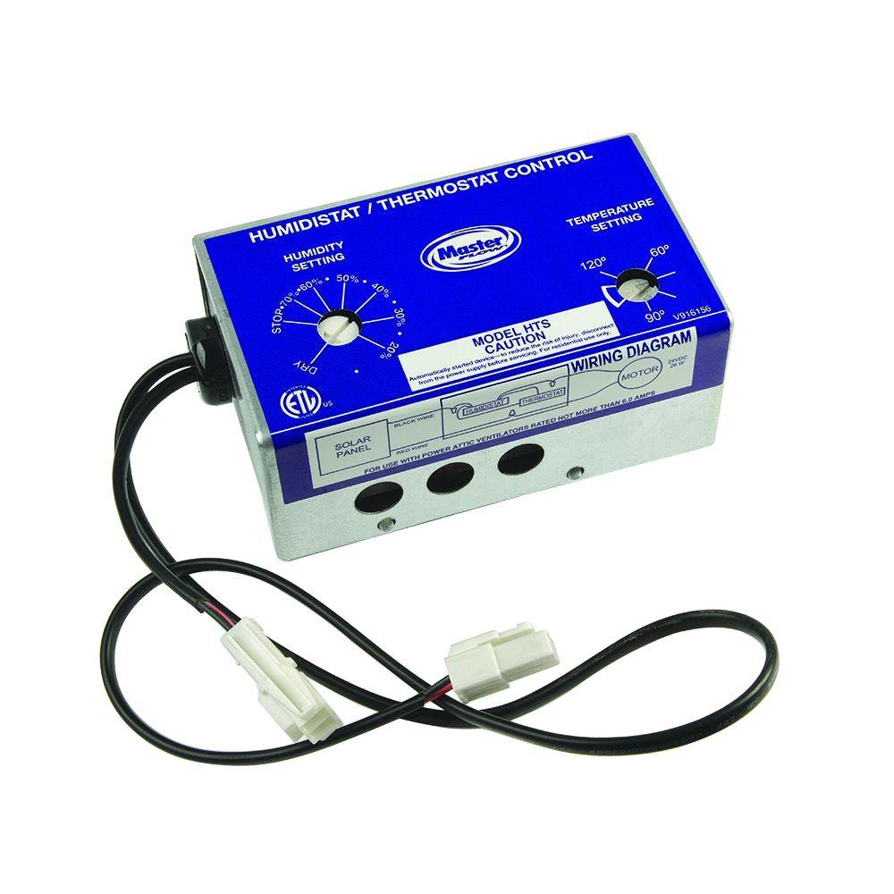 Master Flow Manually Adjustable Humidistatthermostat Control For throughout proportions 1000 X 1000