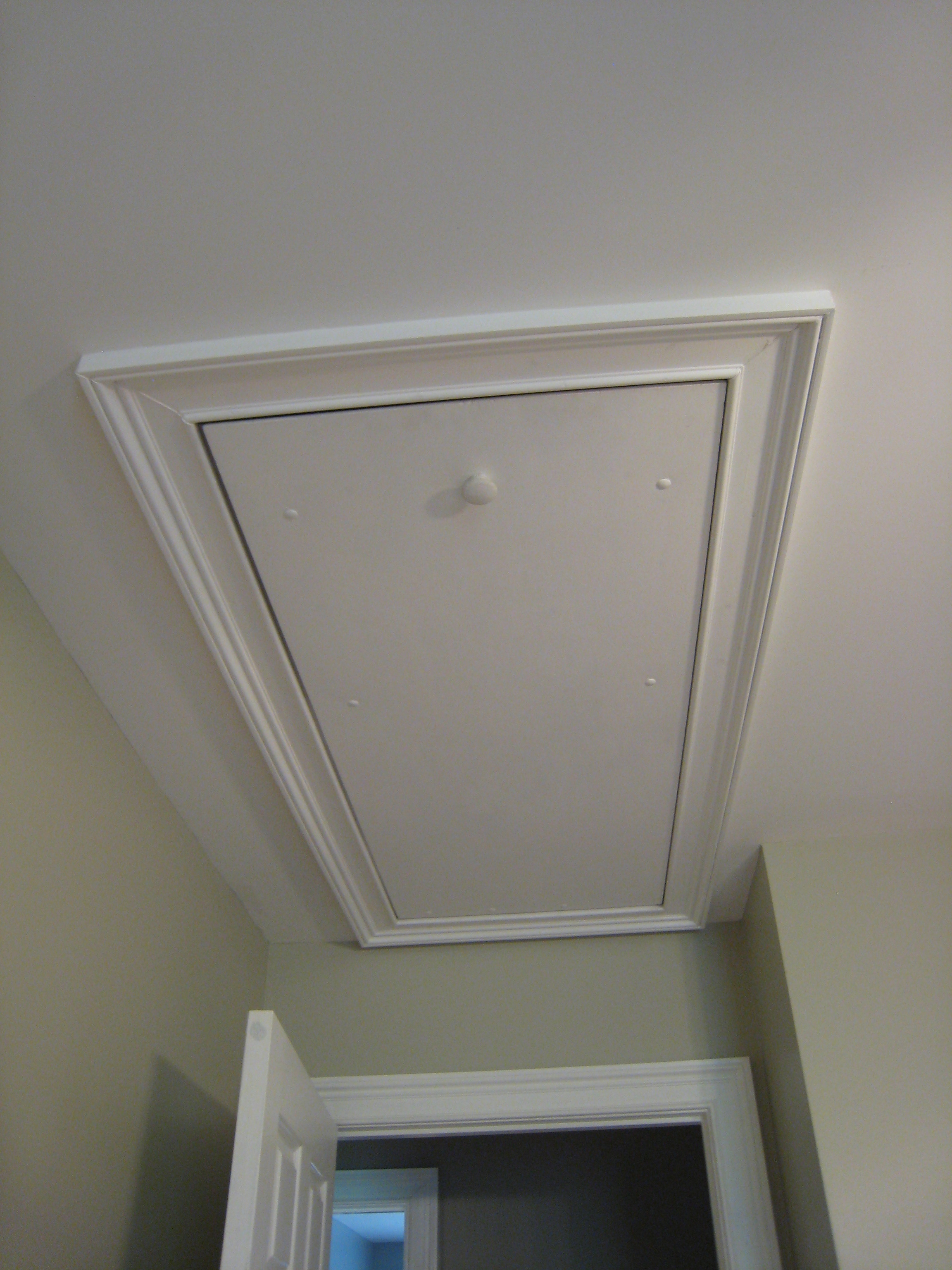 Access Door For Under Stair Storage My Own Ideas Simple Before Choose Attic Doors Within Prepare 5 Ceiling Cover