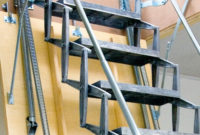 Motorized Ladder Accordion Protection Aluminum Retractable For pertaining to measurements 1332 X 1332