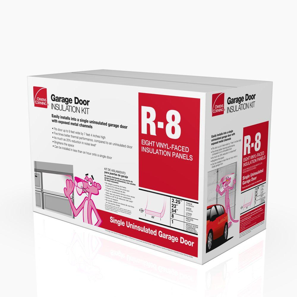Owens Corning Garage Door Insulation Kit 8 Panels Gd01 The for sizing 1000 X 1000