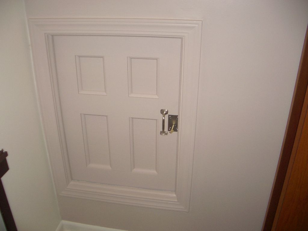 Project Coraline Build An Attic Door W Skeleton Lock 10 Steps throughout measurements 1024 X 768