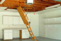 Pull Down Attic Stairs For Installing The Kienandsweet Furnitures in size 1466 X 1132