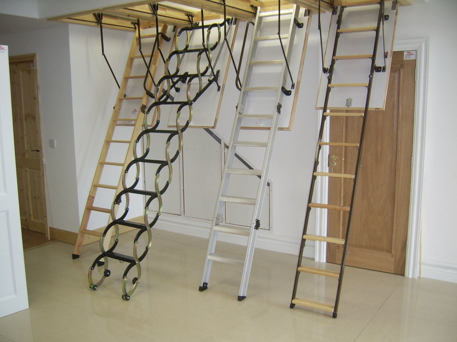 Pull Down Attic Stairs For Installing The Kienandsweet Furnitures  Pertaining To Size 1600 X 1200