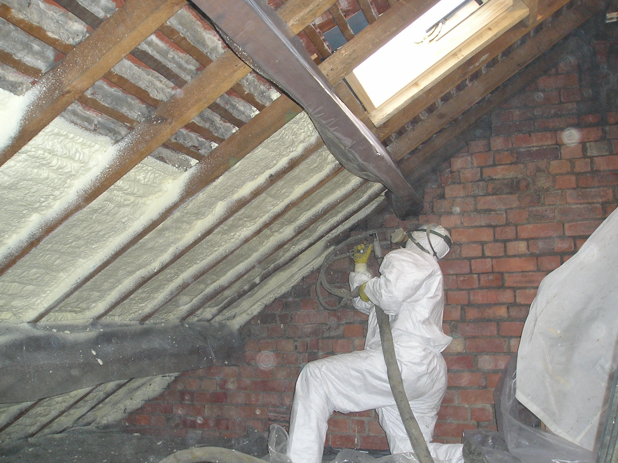 Retrofit Insulation Spray Tight Spray Foam Insulation for sizing 2048 X 1536