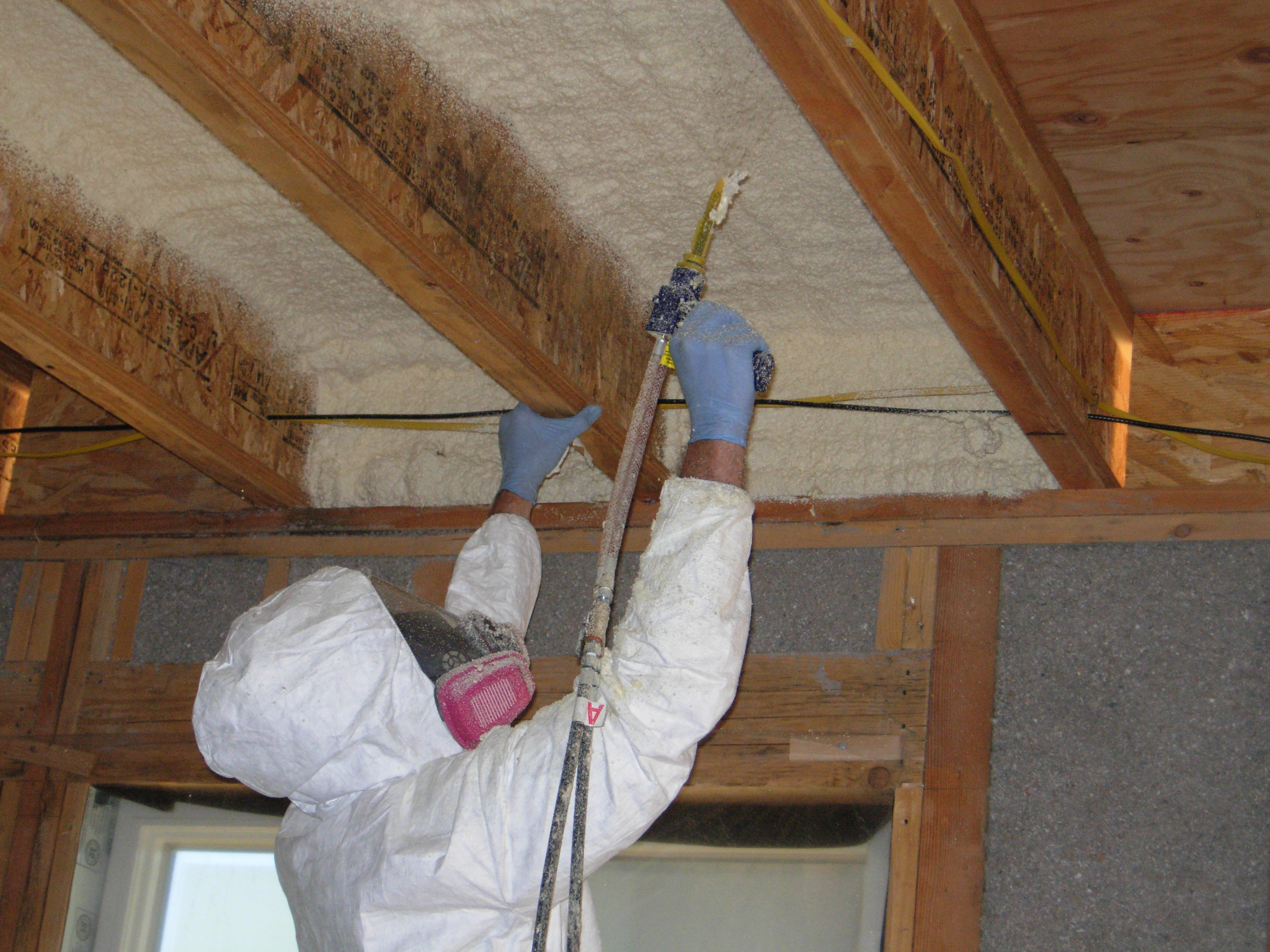Roof Beautiful Sela Roofing Spray Foam Insulation A Good Option pertaining to sizing 3264 X 2448