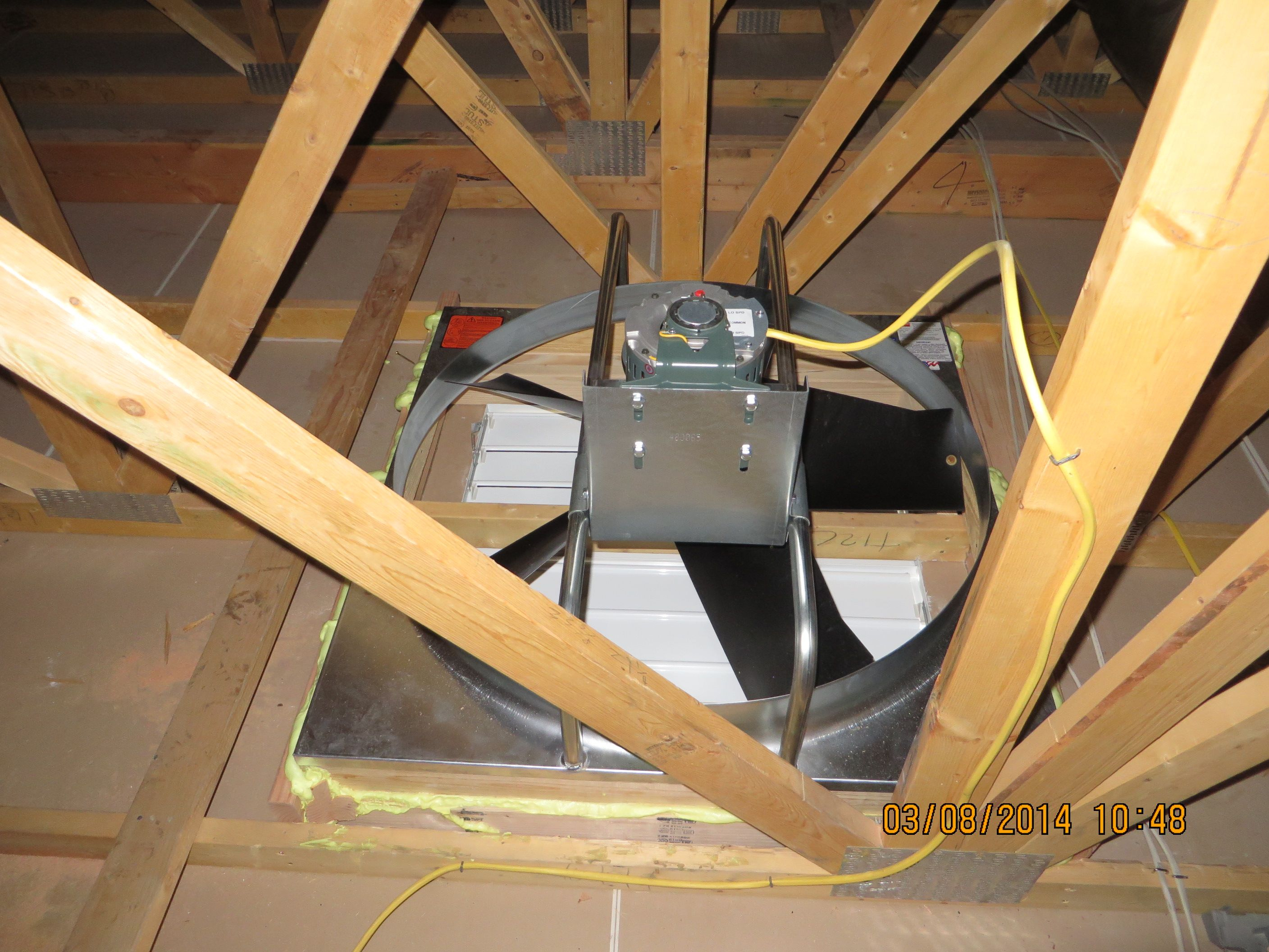 Save Money With A Whole House Attic Fan pertaining to measurements 2816 X 2112