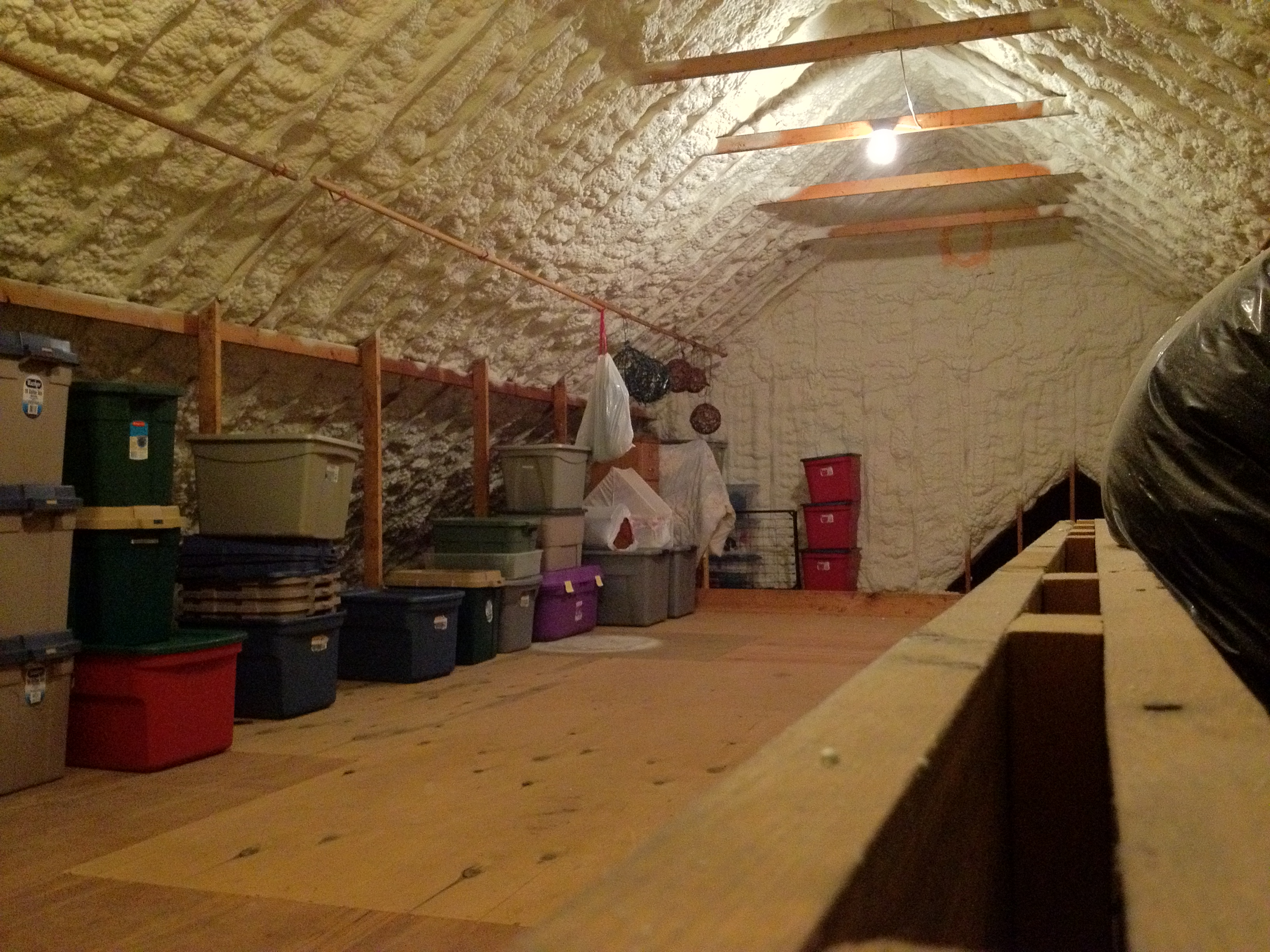 Spray Foam Insulation For Vented Attics Attic Ideas