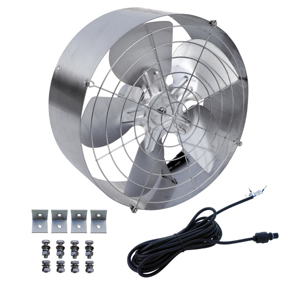 Solar Power Attic Gable Fan With 65 Watt 18 Volt Efficient inside size 1000 X 1000