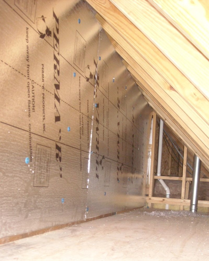 Solving Comfort Problems Caused Attic Kneewalls intended for proportions 800 X 1000