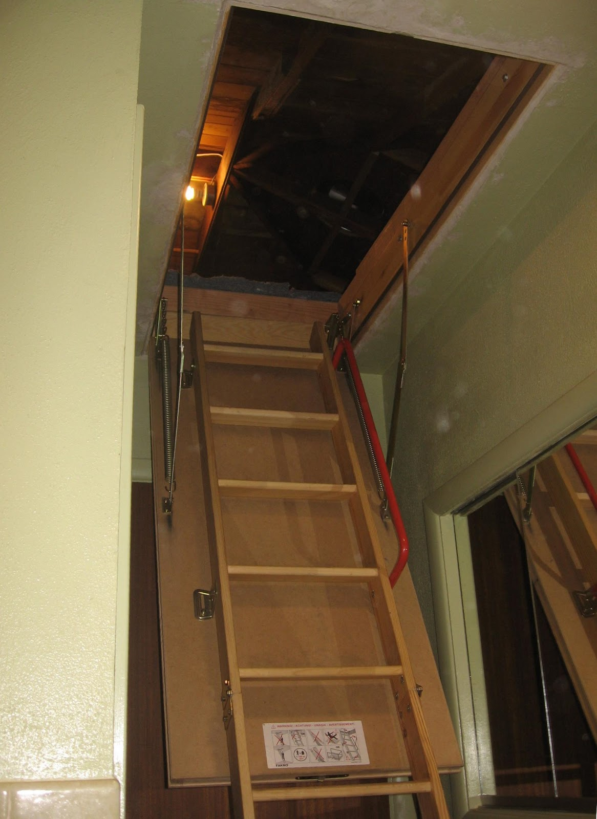 door way attic watch an youtube easy to install