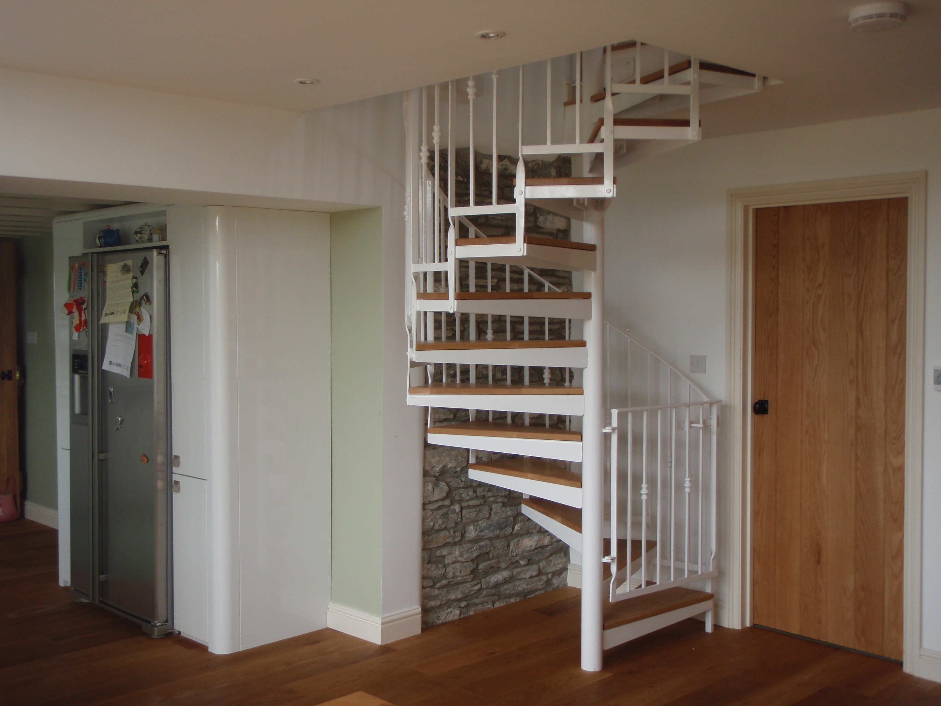 Spiral Staircase Attic Conversion Attic Ideas