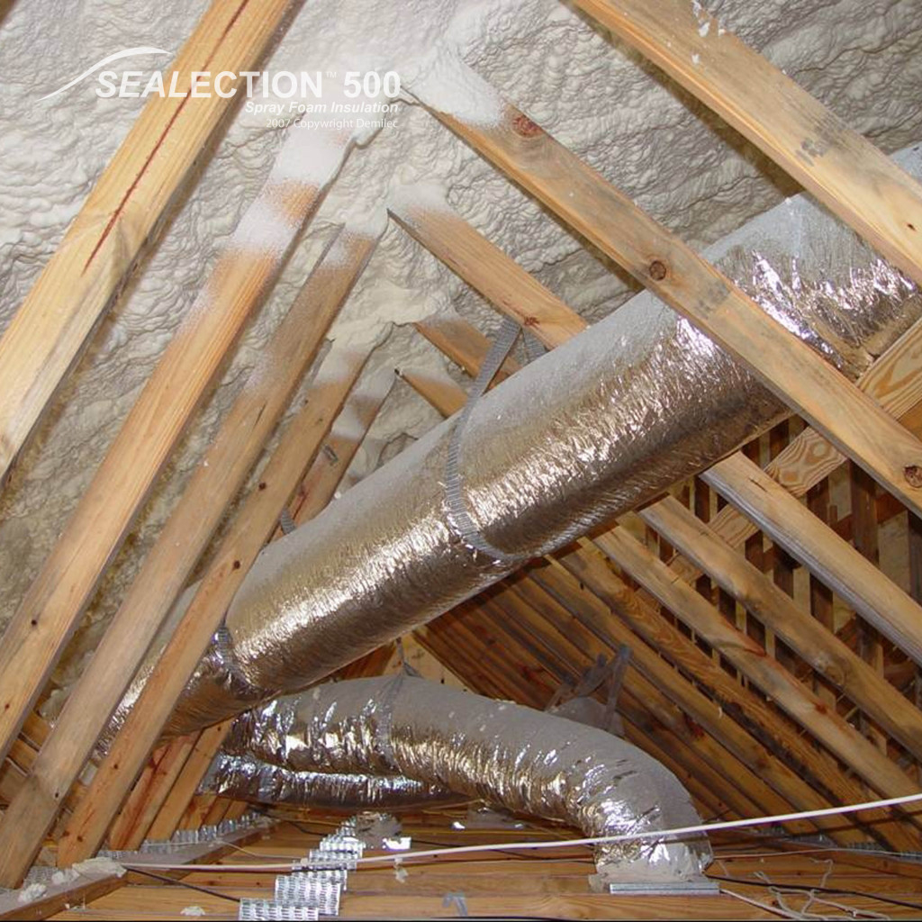 Spray Foam For Your Attic Insulation Kansas City Why Its A Good in proportions 1024 X 1024
