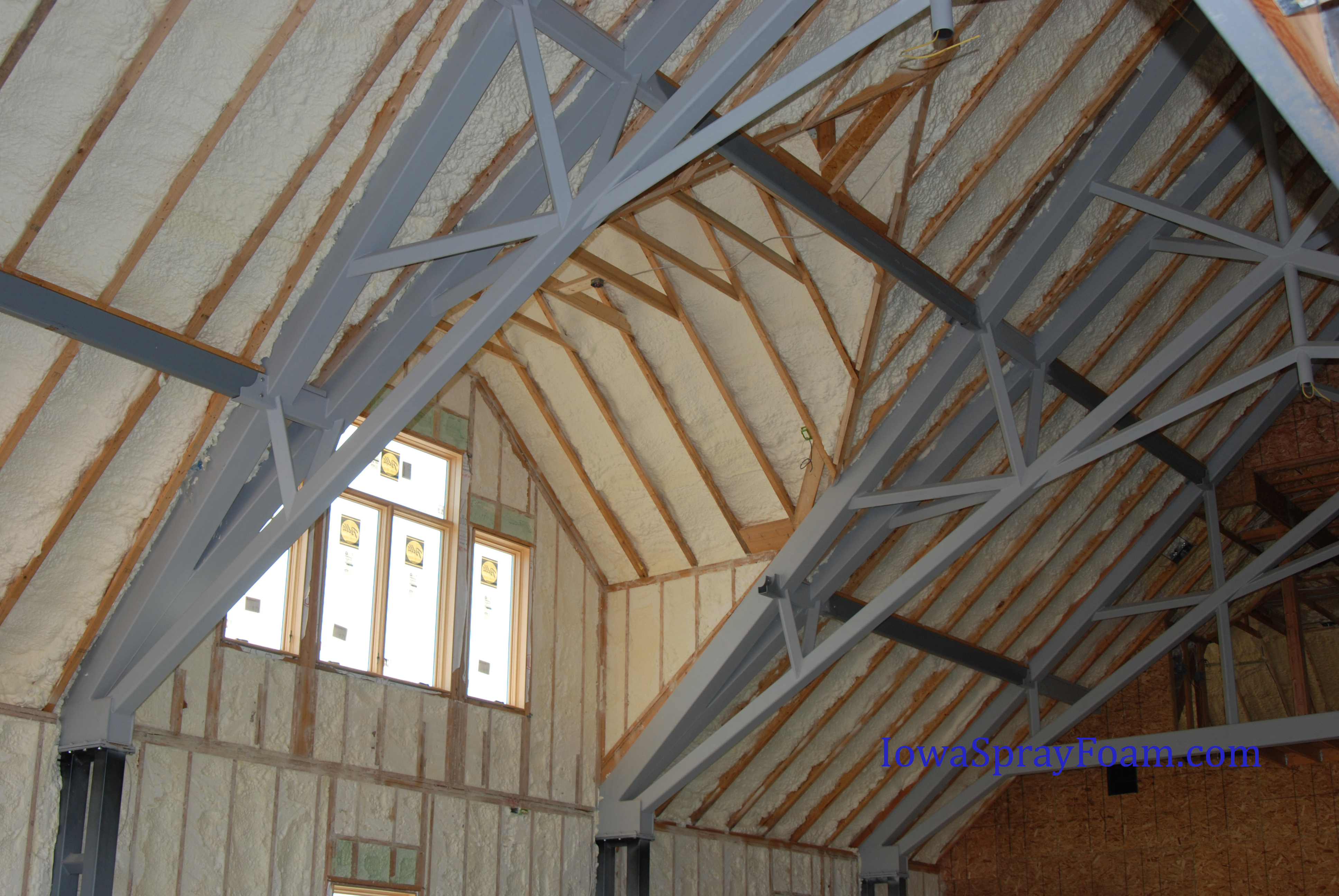 Spray Foam Insulation Audubon Ia Iowa Spray Foam Insulators throughout proportions 3872 X 2592