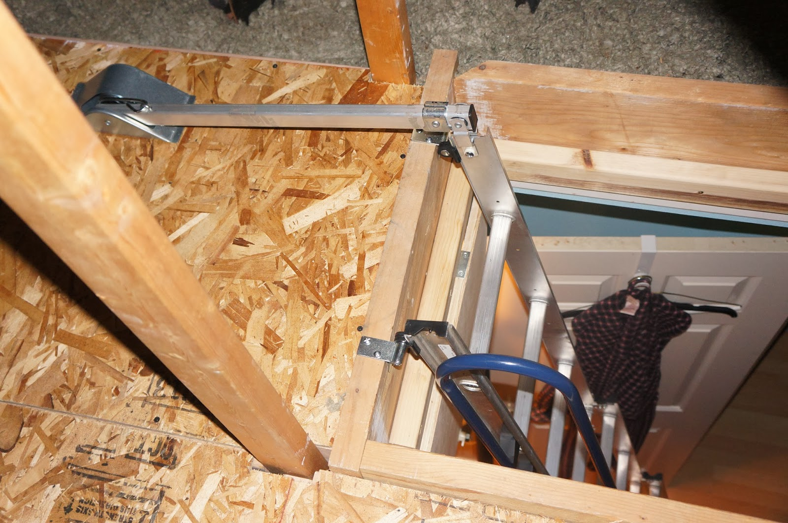 The Fry Family Attic Storage intended for dimensions 1600 X 1063 & Werner Compact Attic Ladder u2022 Attic Ideas