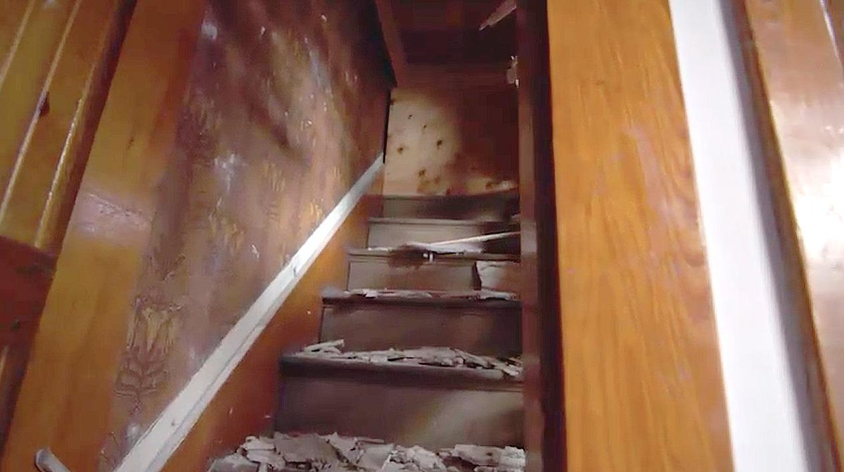This Old House On Twitter Remember The Hidden Staircase In with measurements 1200 X 671
