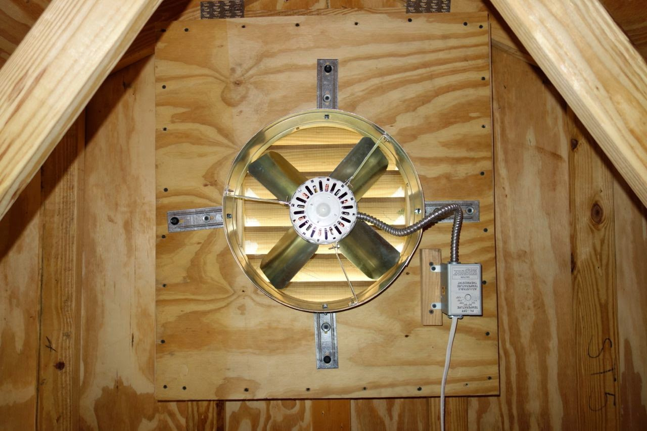 Small Attic Fan For Garage Attic Ideas
