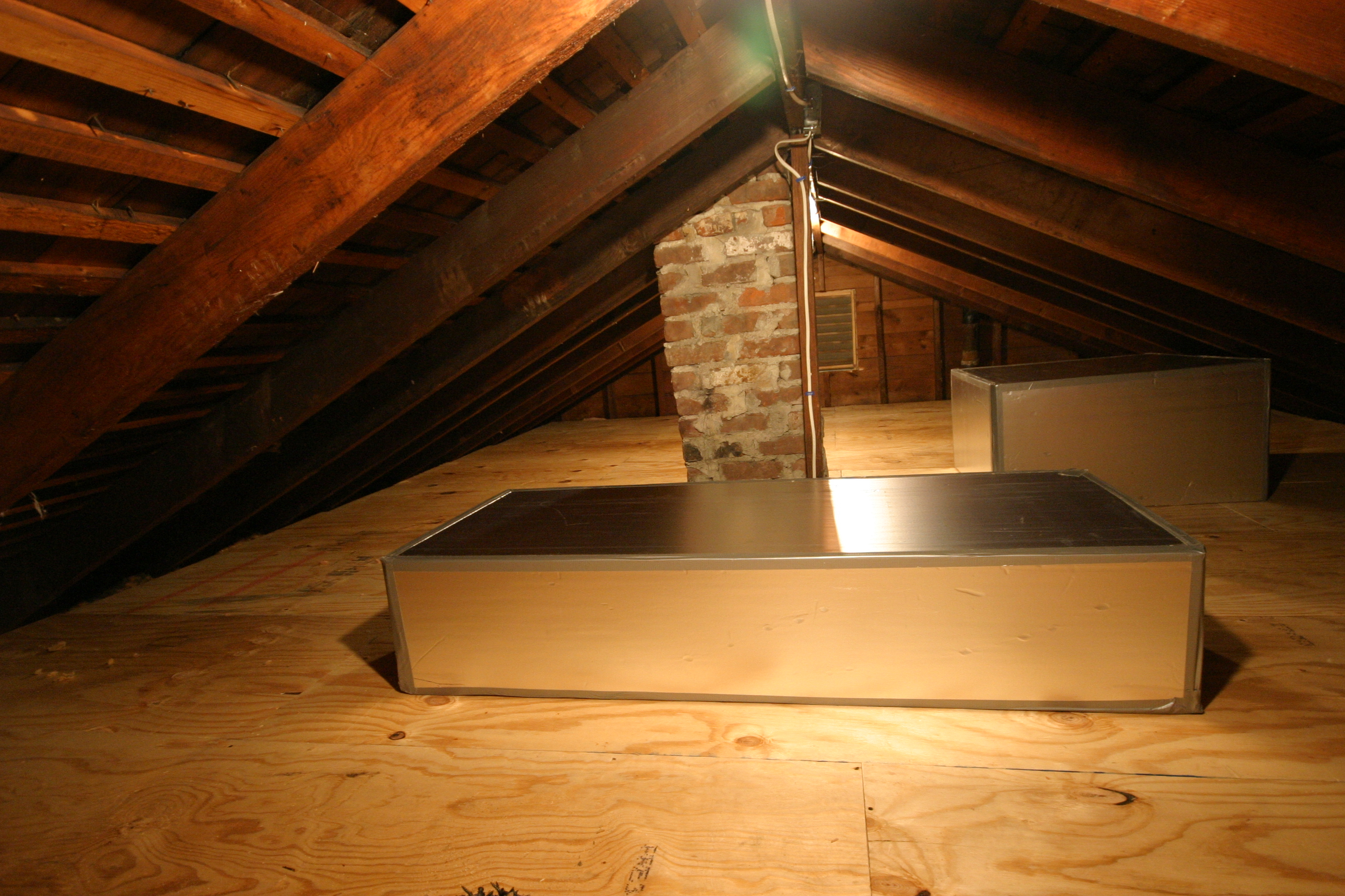 Attic Stair Cover Tent Attic Ideas