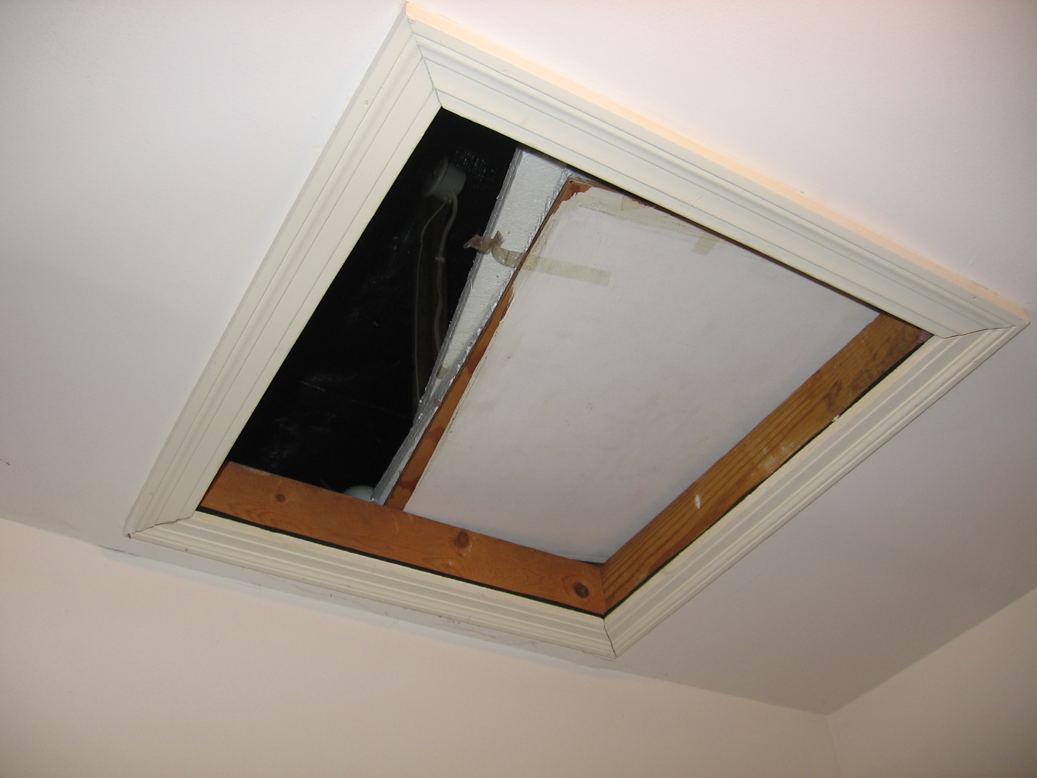 cover how door entrance attic watch doors install seal to and heatblockers by an your around