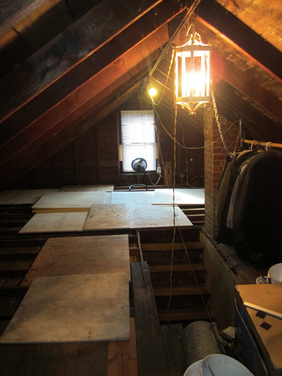 Small Attic Lift