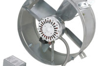 Ventamatic Cool Attic 1300 Cfm Power Gable Mount Attic Vent within proportions 1000 X 1000