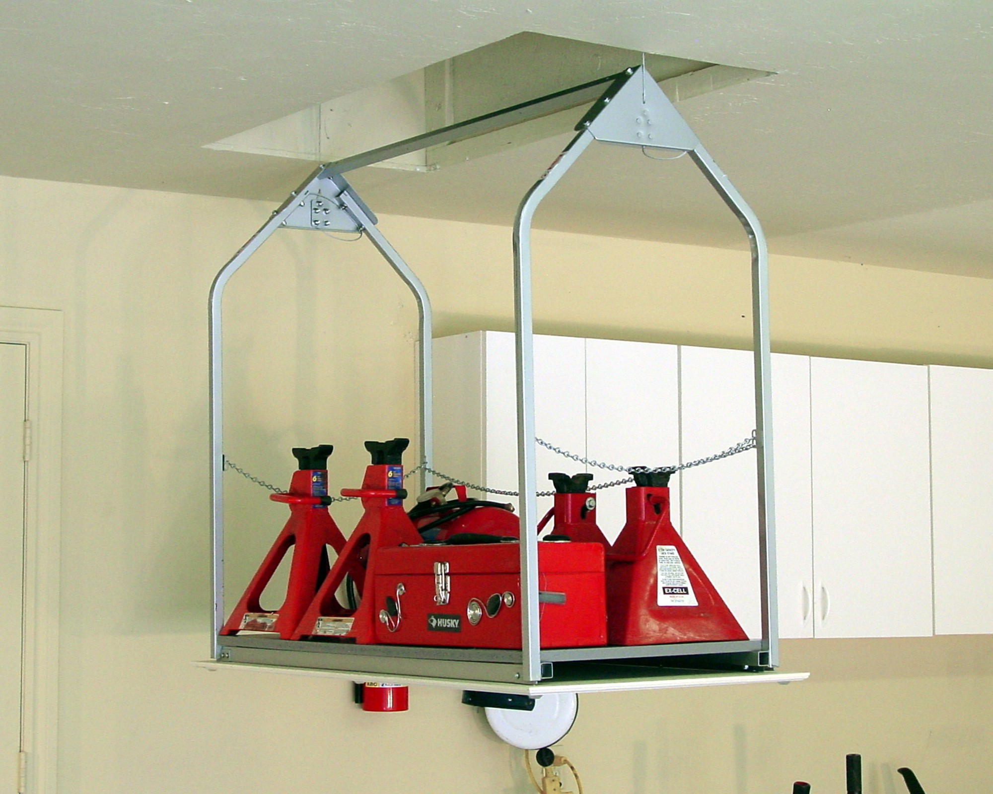 Versalift Attic Storage System Texas Lift Masters For Proportions 2000 X  1600
