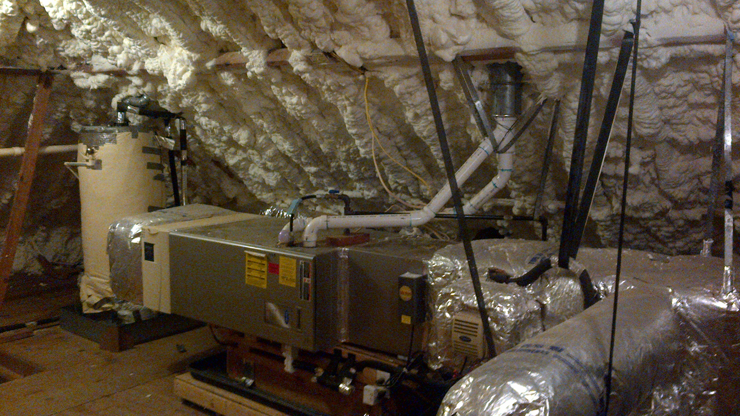 Attic Mounted Air Conditioning System Attic Ideas