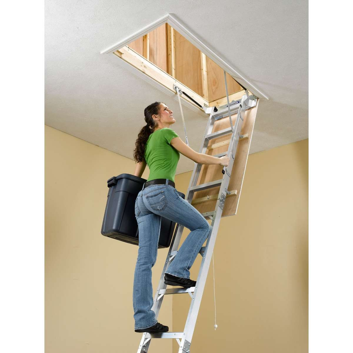 Werner Sliding Attic Ladder Attic Ideas