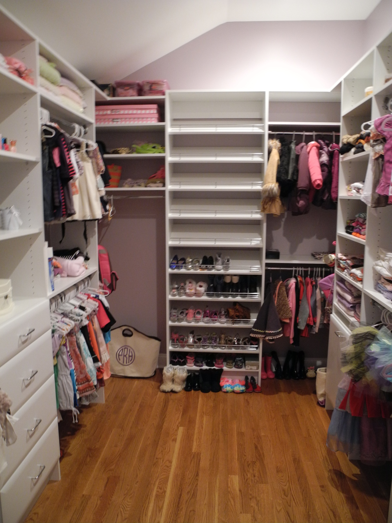 White Walk In Closet Cabinet For Clothing Organizer Storage In with regard to size 1350 X 1800