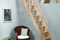Wood Attic Ladder Small Opening Quickinfoway Interior Ideas inside dimensions 1300 X 1473