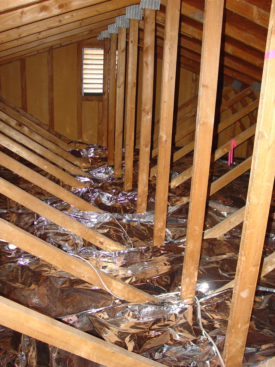 Reflective Optimizing Attic Insulation • Attic Ideas