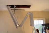 Aluminum Pull Down Attic Stairs Basic Pull Down Attic Stairs throughout sizing 2560 X 1920