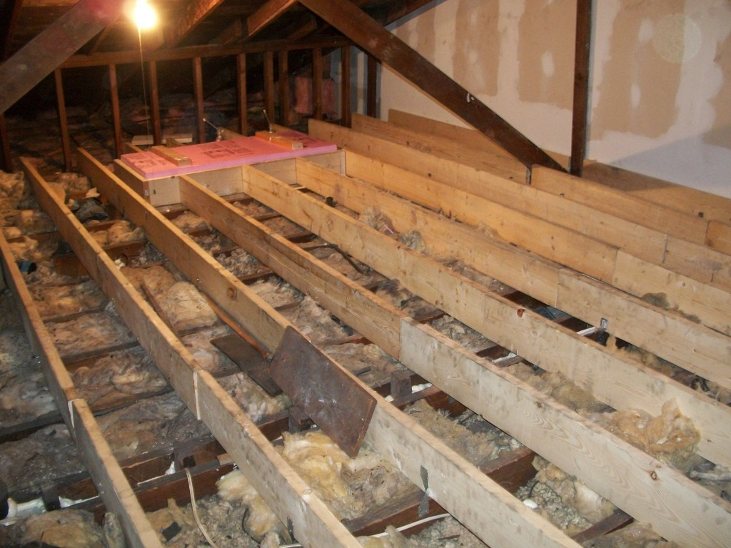 Insulate An Attic Floor Attic Ideas