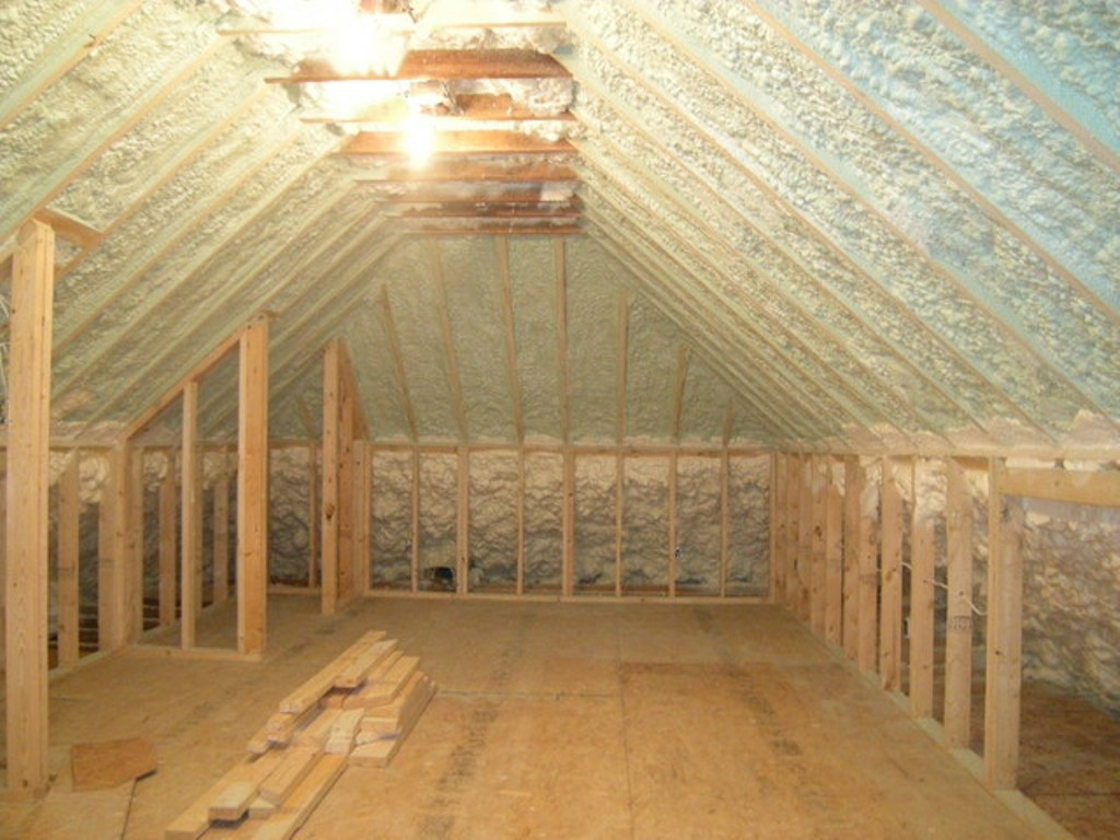 Benefits Of Spray Foam Attic Insulation Attic Ideas