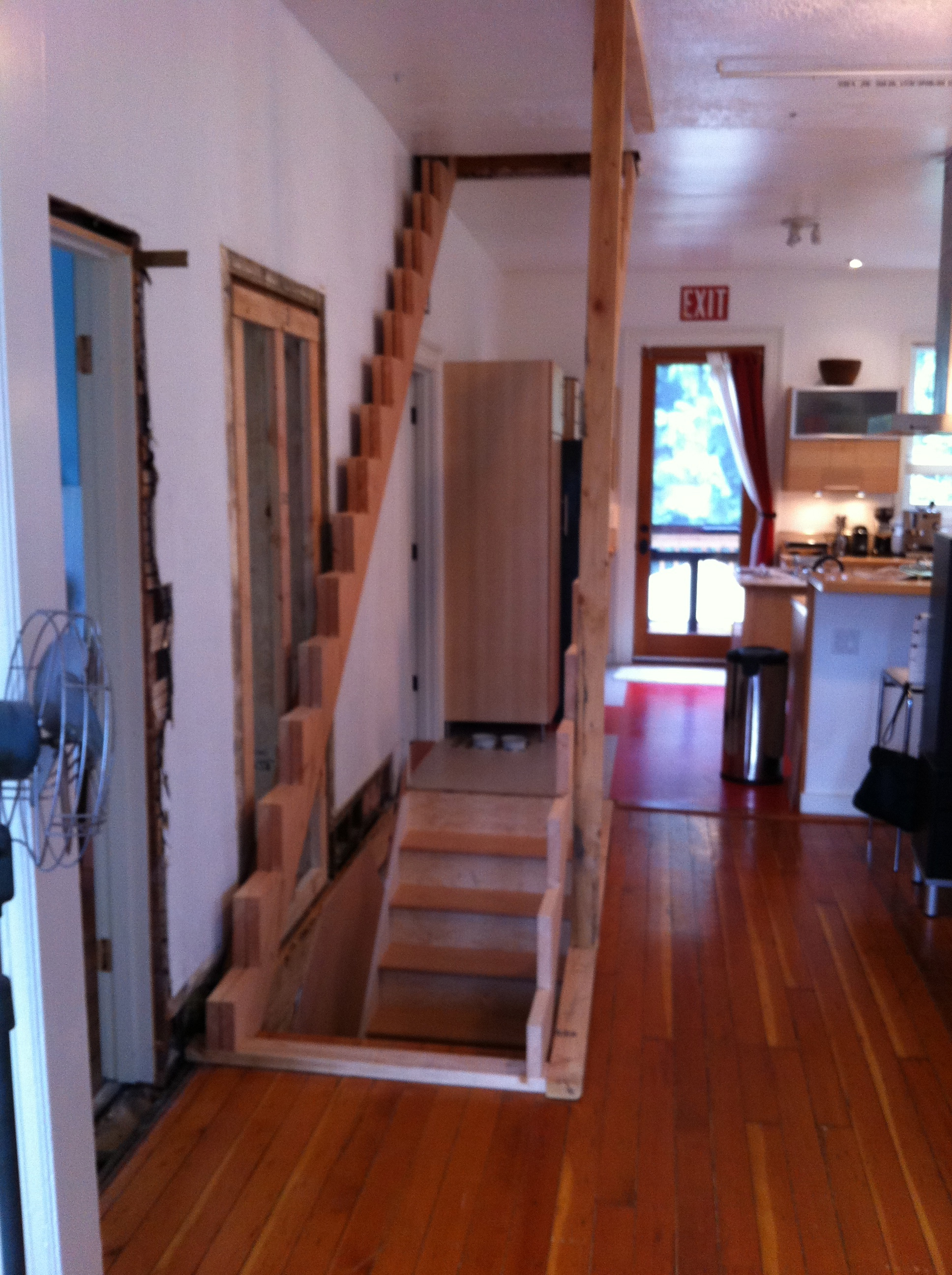 Diy Stairs To Attic Modern Home Ideas