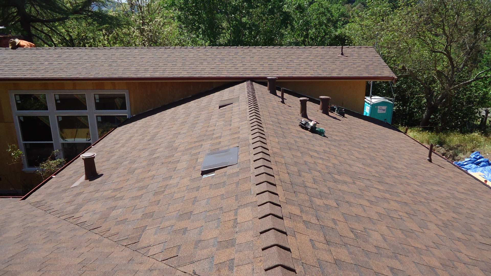 Fire Damaged Roof Repair In Alamo Ca Pacific Coast Roofing Service within proportions 1920 X 1080