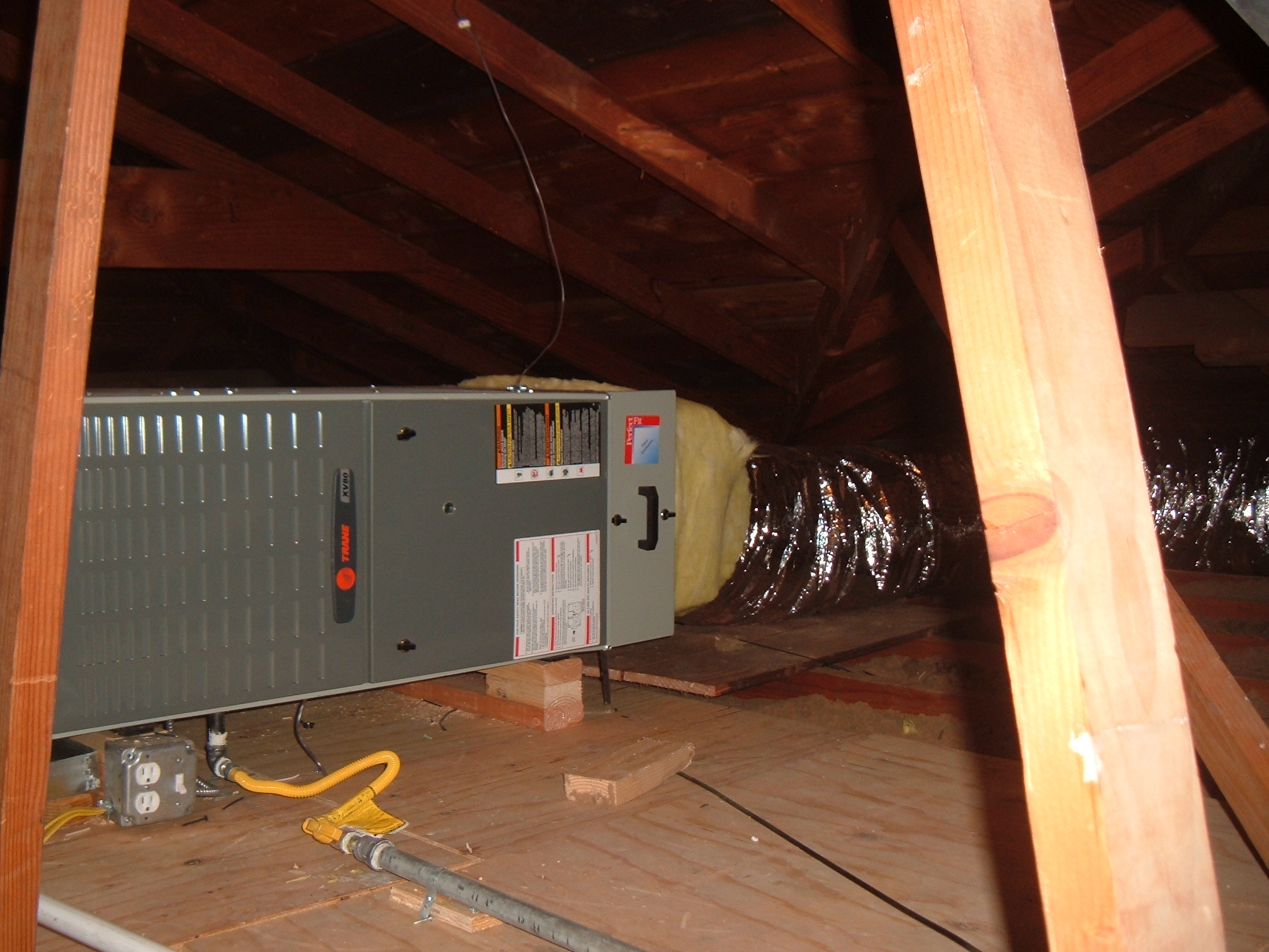 Furnace Installed In Attic Reliable Energy Attic Furnaces pertaining to proportions 2016 X 1512