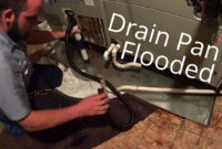 Hvac Service Secondary Drain Pan Flooded And A Shocking Air pertaining to dimensions 1280 X 720