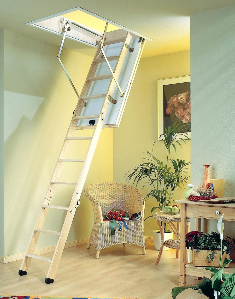 Werner Televator Small Opening Attic Ladder Attic Ideas