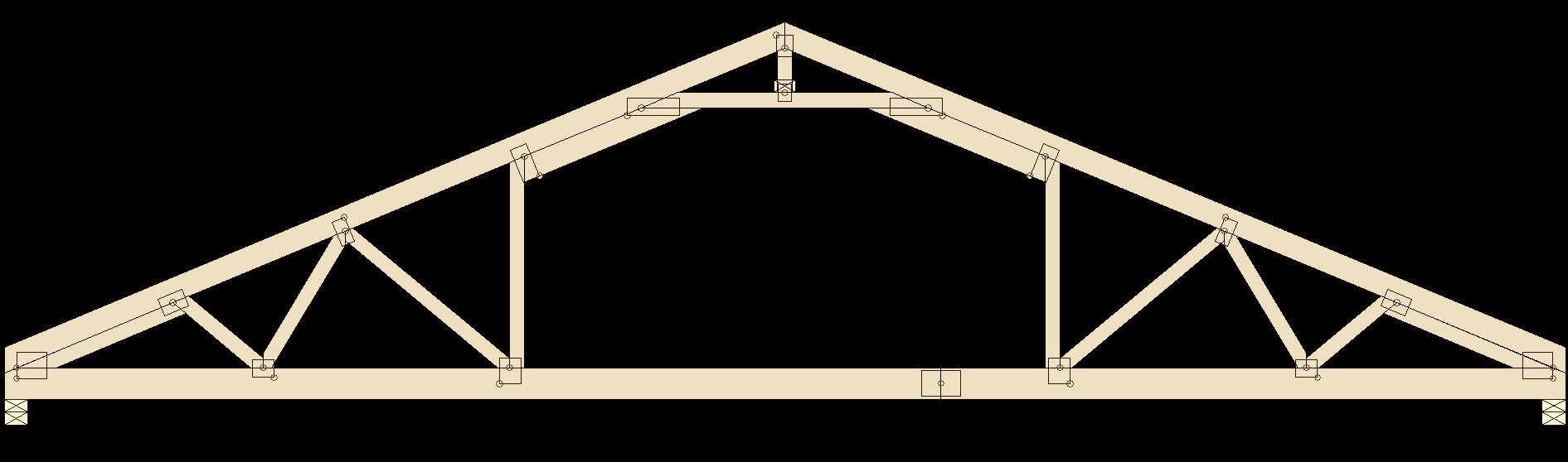 Truss Types Prairie Truss for proportions 1891 X 558